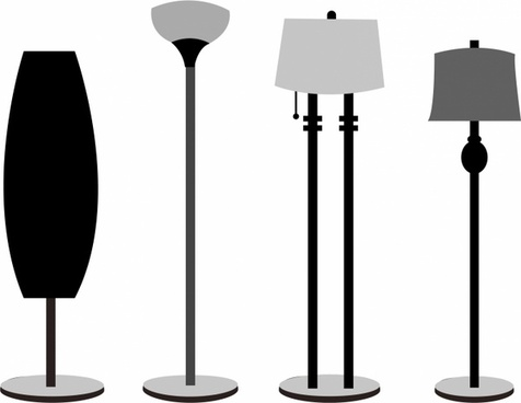 476x368 Desk Lamp Drawing Free Vector Download (89,583 Free Vector) For