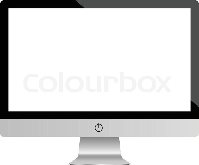 800x662 Computer Display Monitor. Highly Detailed Responsive Desktop