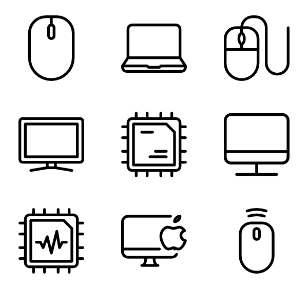 600x564 Desktop Computer Icons