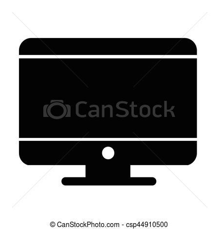 450x470 Desktop Computer Icon Vector Clipart