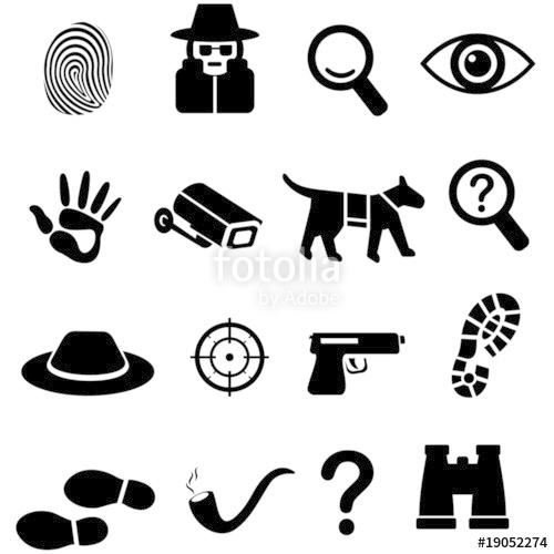 500x500 Detective Icon Stock Image And Royalty Free Vector Files On