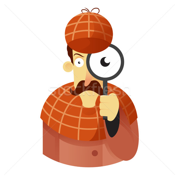 600x600 Detective Vector Illustration Sergey Ivanov (Amplion) ( 7742381
