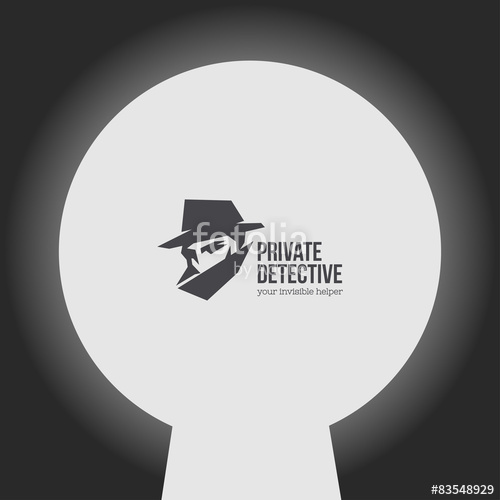 500x500 Private Detective Vector Logo Stock Image And Royalty Free Vector