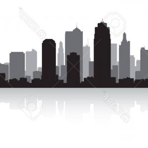300x300 Stock Illustration New York Skyline Chicago Skyline Miami Skyline