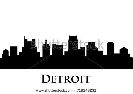 450x320 Detroit Skyline Clipart Amp Detroit Skyline Clip Art Images