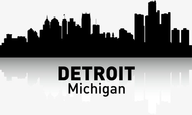 650x389 Detroit, City Silhouette, City, City Png And Vector For Free Download
