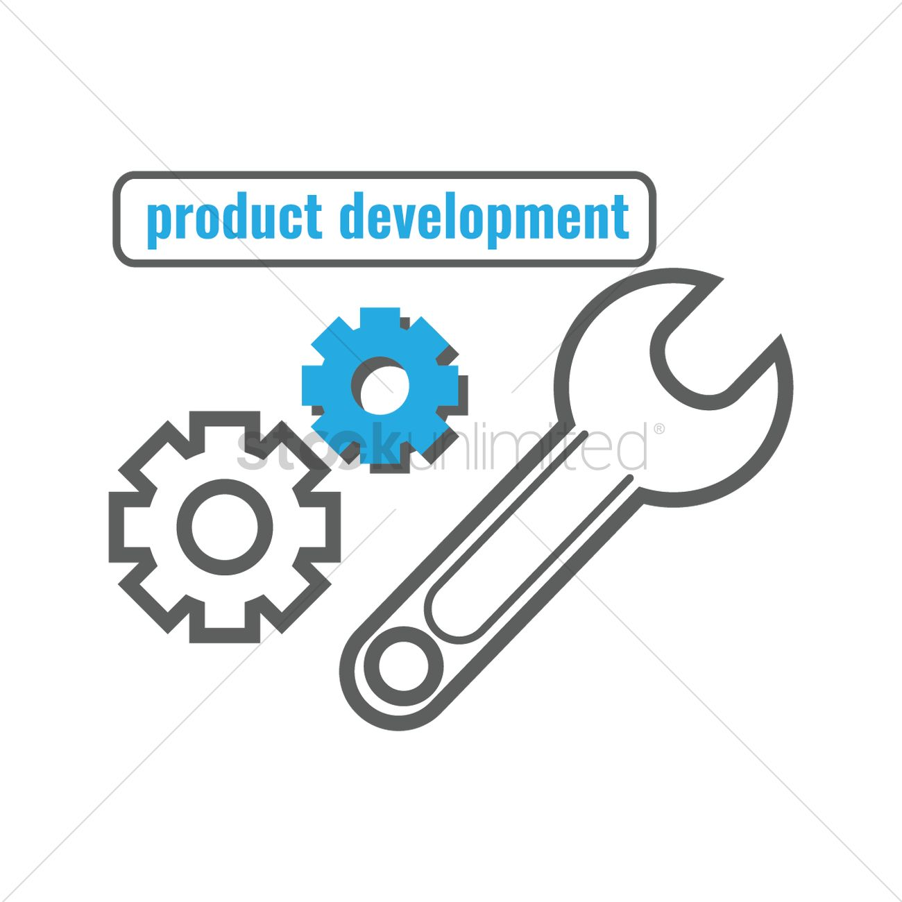 1300x1300 Free Product Development Vector Image