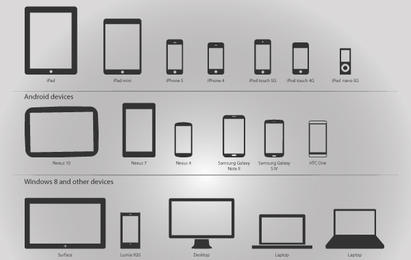 411x260 Devices Vector Amp Graphics To Download