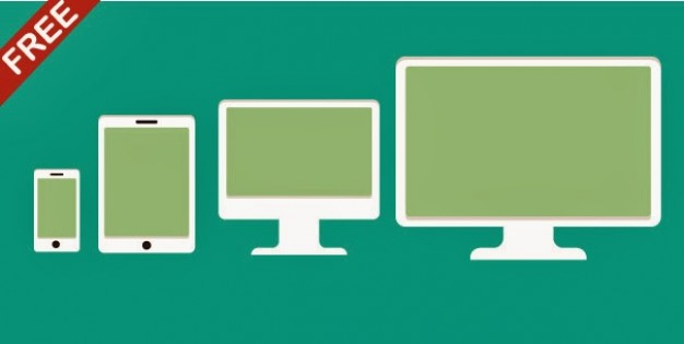 626x315 Flat Electronic Devices Vector Pack Vector Free Download