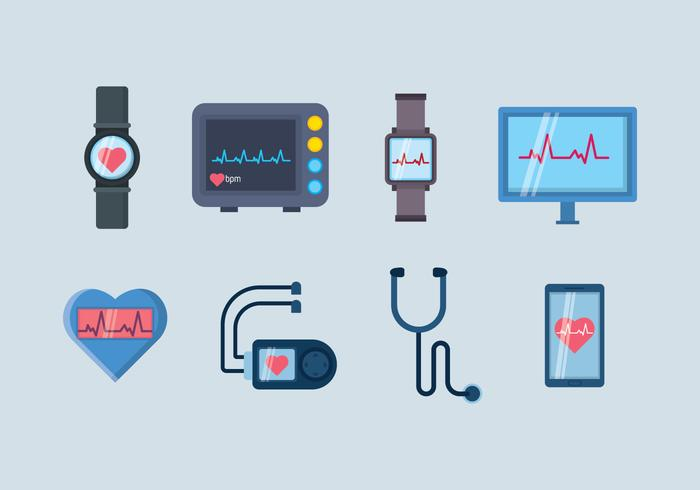 700x490 Free Heart Medical Device Vector
