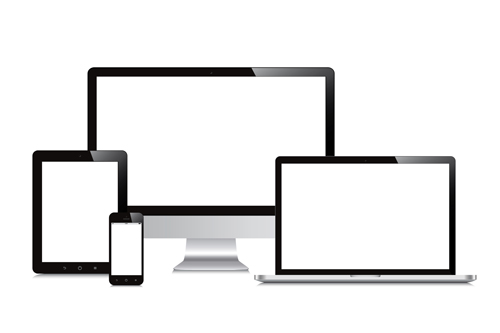 500x333 Realistic Devices Responsive Design Template Vector 03 Free Download