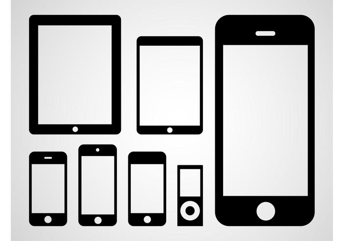 700x490 Apple Devices Vector