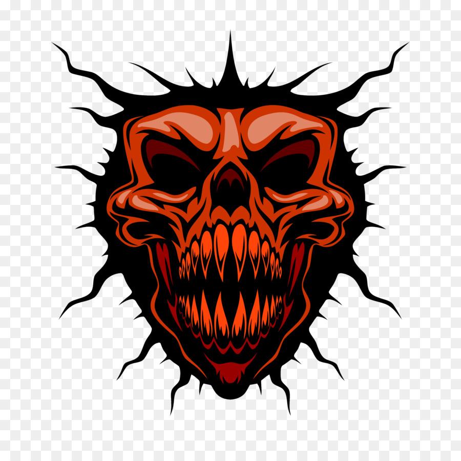 900x900 Skull Royalty Free Illustration