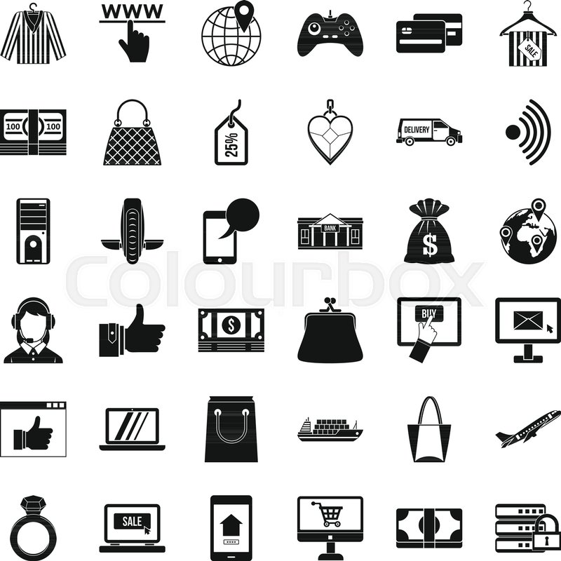 800x800 Dialog Icons Set. Simple Set Of 36 Dialog Vector Icons For Web