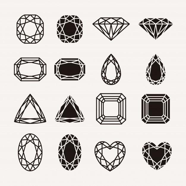 626x626 Diamante Fotos Y Vectores Gratis