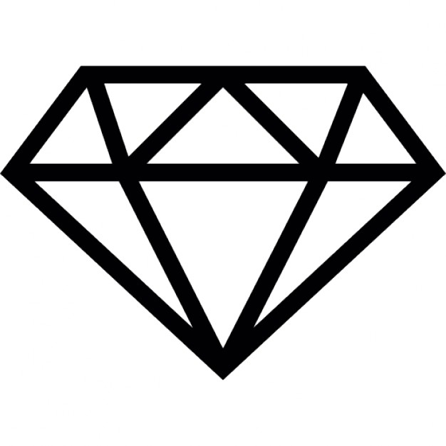 626x626 Diamond Outline Vectors, Photos And Psd Files Free Download