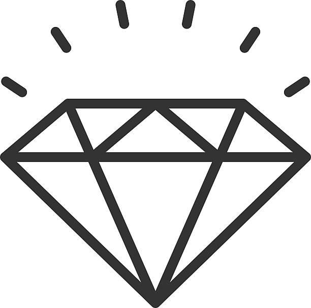 612x605 Diamonds Clipart Diamond Outline