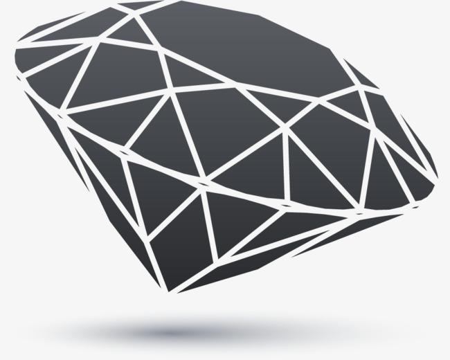 650x520 Black And White Line Vector Diamond, Black Vector, Line Vector