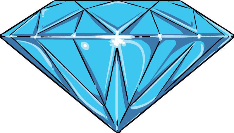 800x457 Imagem Diamante Vector