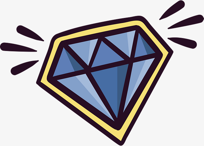 650x464 Blue Diamond, Vector Png, Diamonds Png And Vector For Free Download