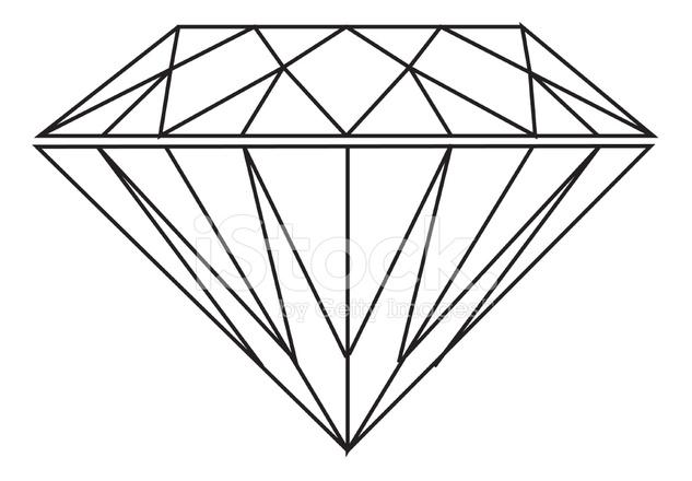 633x440 Diamante (Vector) Stock Vector