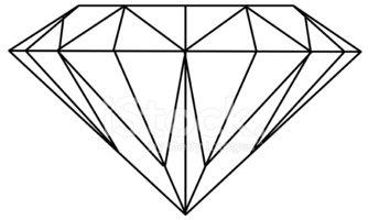 334x200 Diamante (Vector) Vectores En Stock