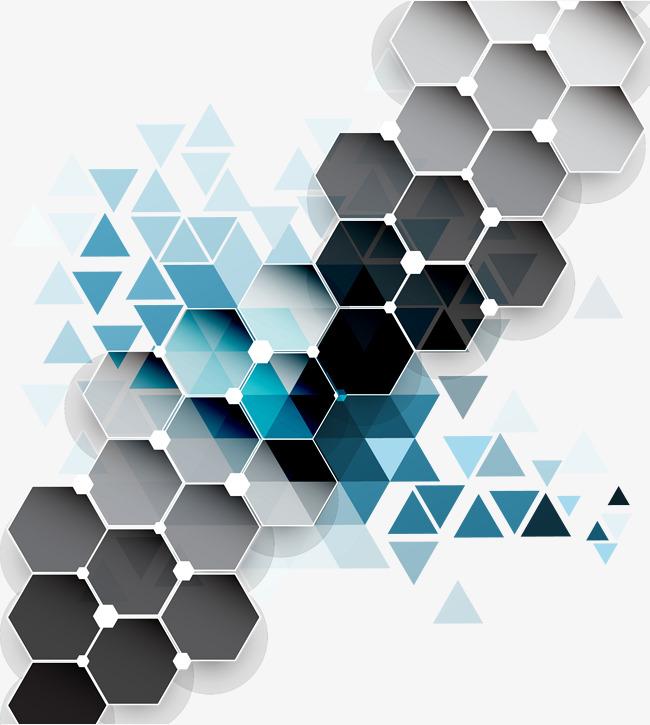 650x725 Colorful Diamond Background Vector, Diamond, Hexagon, Triangle Png