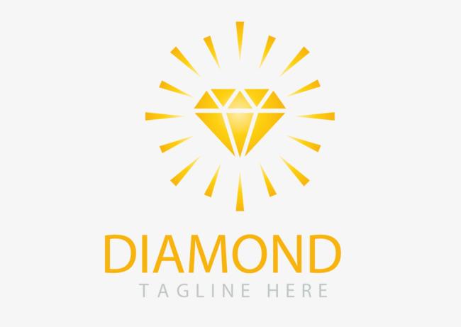 650x461 Noble Gold Diamond Logo Vector, Vector Logo, Golden, Diamond Png