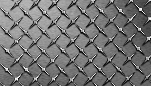 Diamond Plate Pattern Vector