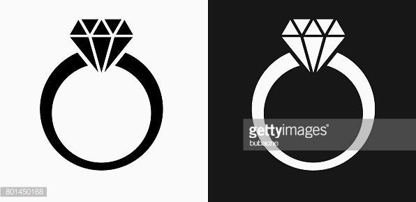 596x290 Diamond Ring Vector Free Download Elegant Diamond Ring Icon Flat