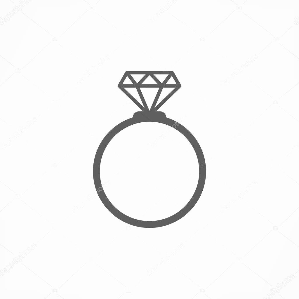 1024x1024 Black And White Wedding Ring Vector Unique Diamond Wedding Rings