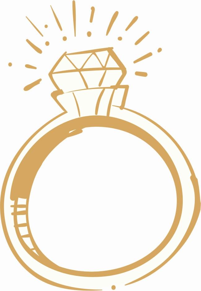 650x941 Wedding Ring Vector Png Elegant Sparkling Wedding Rings Vector