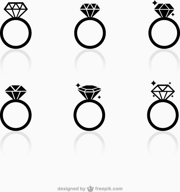 620x659 Diamond Ring Vector Free Download Fresh Fashion Diamond Ring