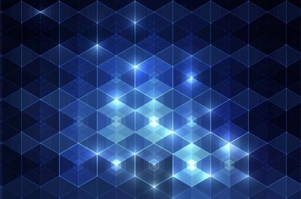 600x397 Blue Diamond Shape Vector Background Free Download Pdf Files