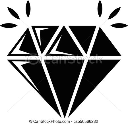 450x438 Mine Diamond Icon , Simple Style. Mine Diamond Icon . Simple