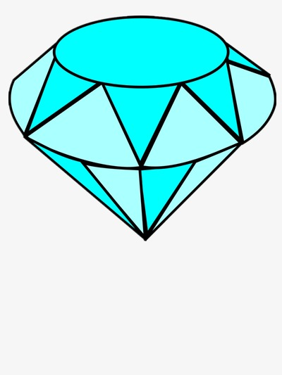 400x533 Diamond Vector, Diamond, Stone, Blue Png And Psd File For Free