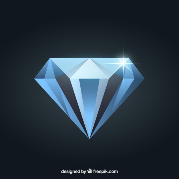 626x626 Diamond Vector Free Download