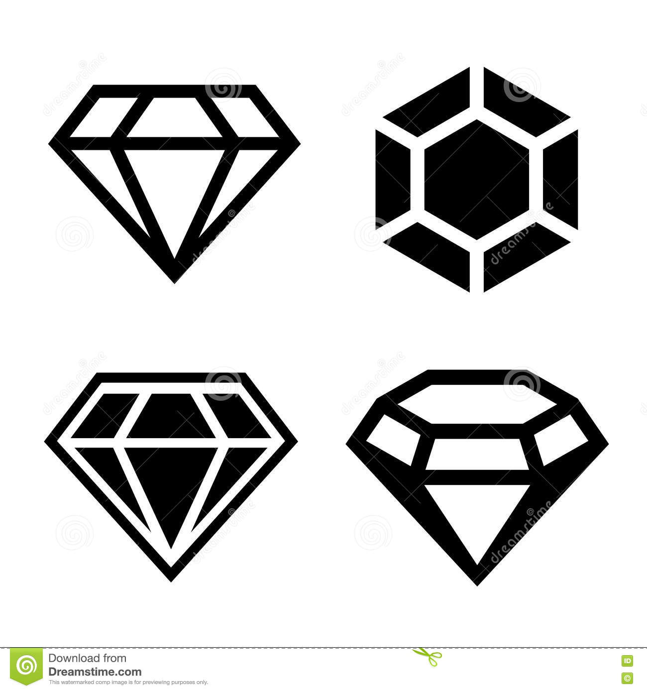 1300x1390 Diamond Vector Clipart