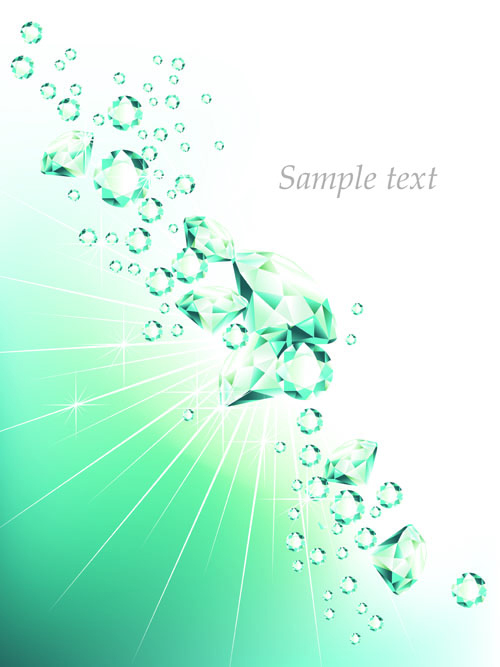 500x667 Elements Of Background With Diamond Vector 02 Free Download