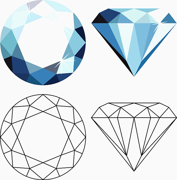 601x612 30 Inspirational Gallery Of Diamond Vector 3axid