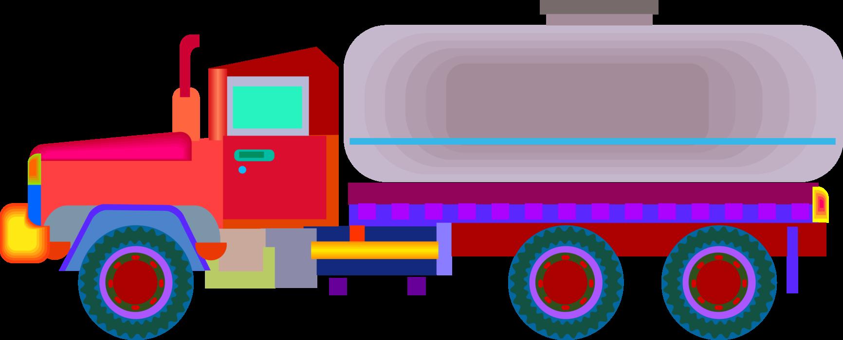 Diesel Truck Vector