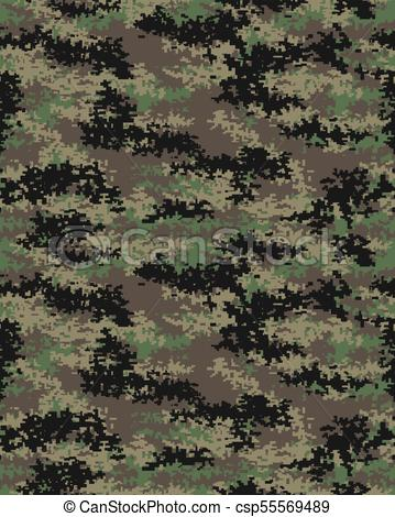 359x470 Digital Camouflage Pattern. Digital Fashionable Camouflage Pattern