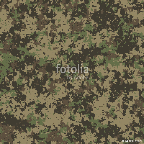 500x500 Abstract Military Or Hunting Digital Camouflage Background