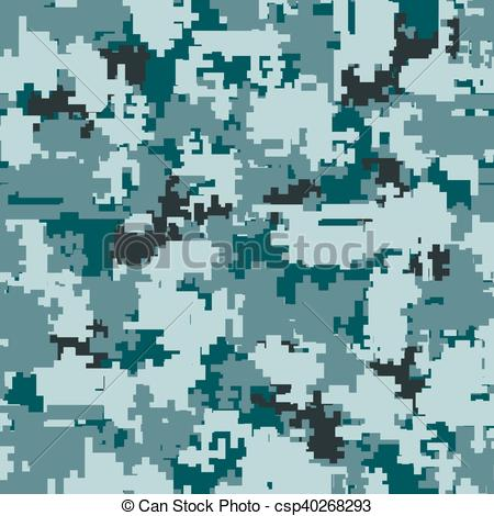 450x470 Digital Camouflage Seamless Patterns. Digital Pixel Camouflage