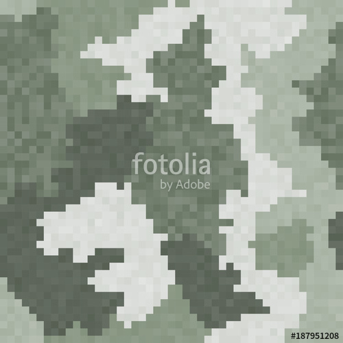 500x500 Military Background Of Soldier Green Camouflaging Pattern. Digital