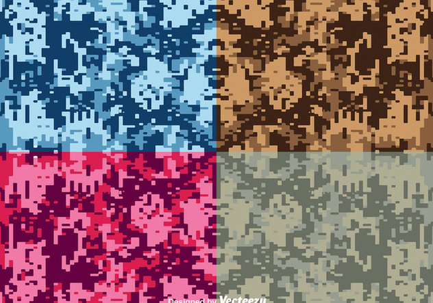 632x443 Vector Digital Camouflage Backgrounds Free Vector Download 363193