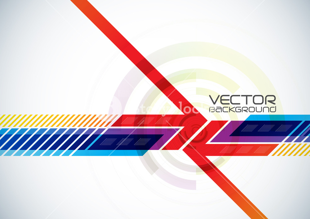 1000x706 Abstract Vector Digital Background Royalty Free Stock Image