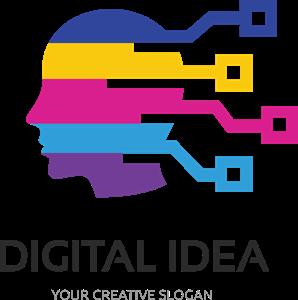 298x300 Multicolor Digital Idea Logo Vector (.eps) Free Download