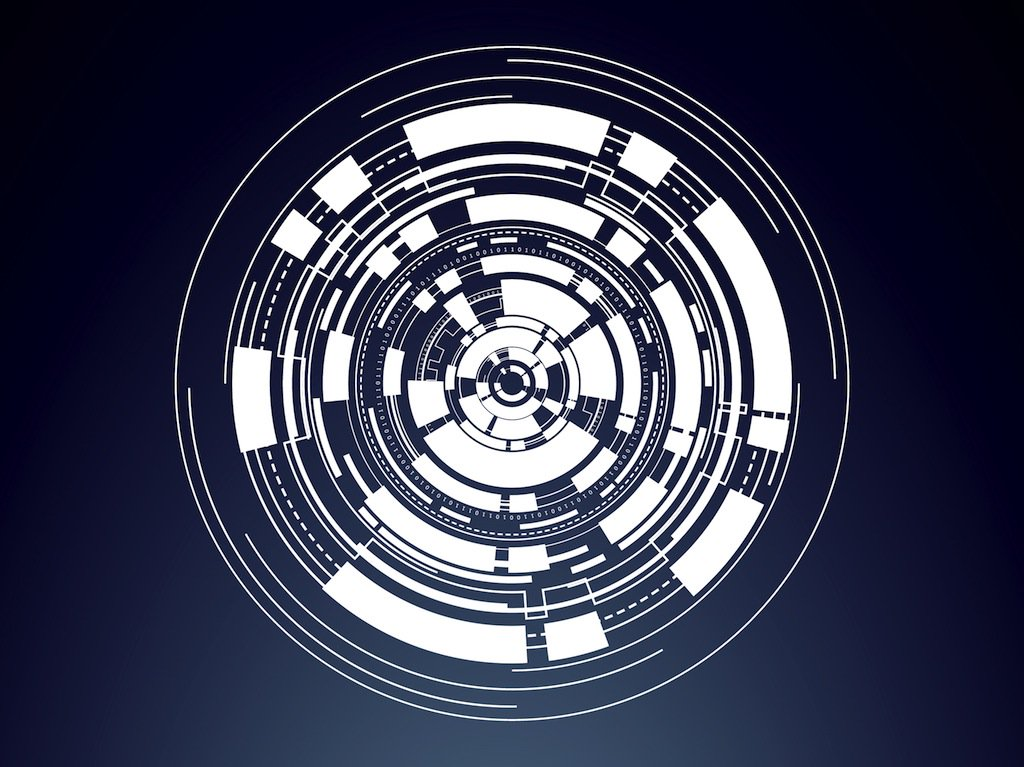 1024x767 Digital Circle Vector Art Amp Graphics