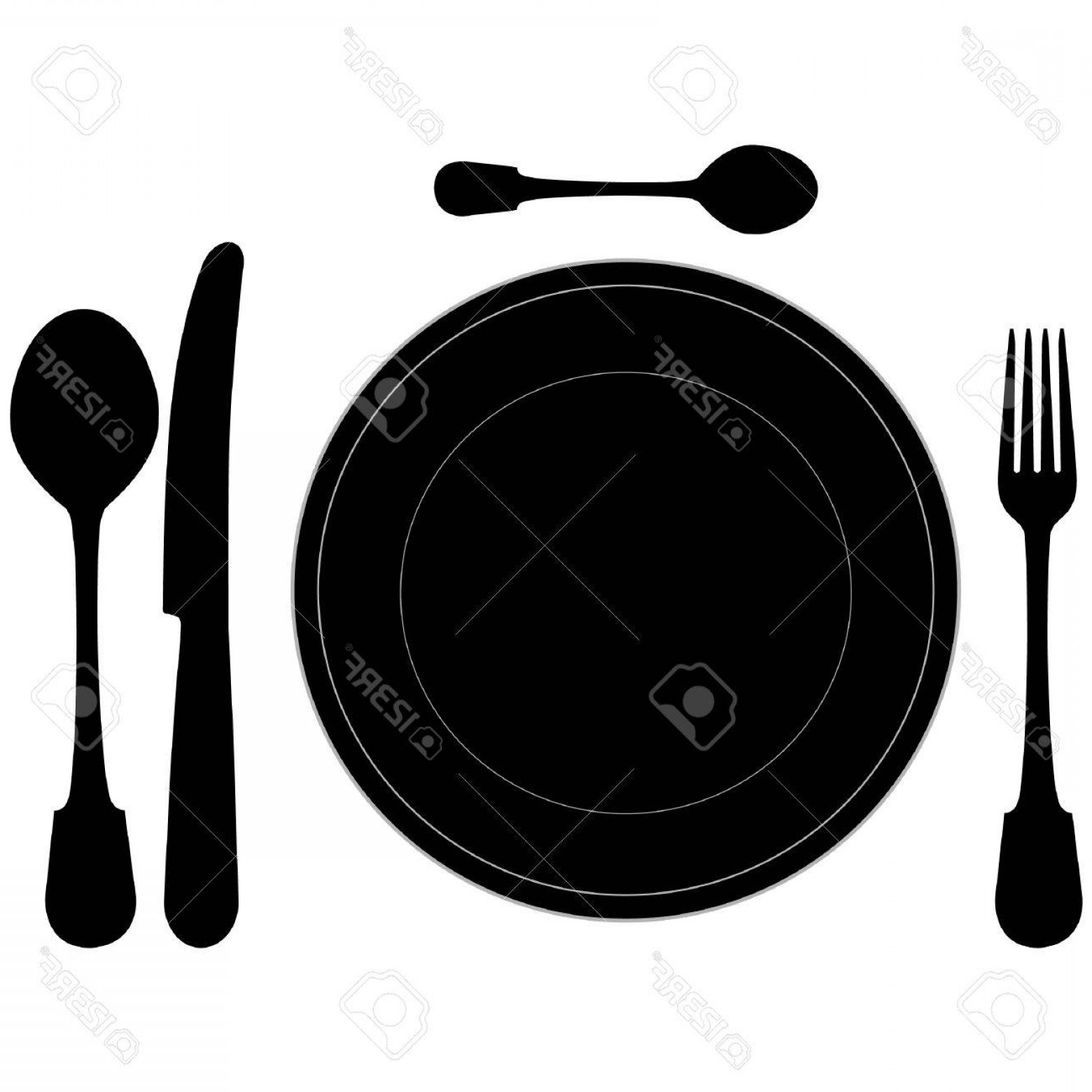 1560x1560 Photocloseup Of A Place Setting With Dinner Plate In Vector Format